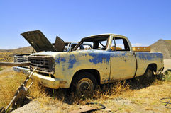 CAR WRECKAGE Royalty Free Stock Images