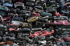 Car wrecks Stock Image