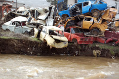 Car wrecks Royalty Free Stock Photo