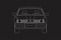 Car& x27; parte anteriore di s Immagine Stock Libera da Diritti