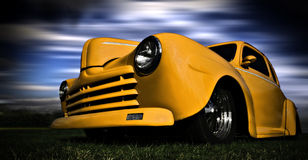 car yellow Στοκ Φωτογραφίες