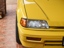 Car in Yellow Stock Photos