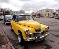 Car ZIL, Russian cars Stock Images