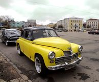 Car ZIL, Russian cars Royalty Free Stock Image