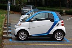 CAR2GO, Vancôver Rideshare Imagens de Stock