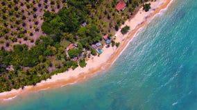 CaraÃva, Bahia, Βραζιλία: Άποψη μιας εγκαταλειμμένης παραλίας Παράδεισος στοκ φωτογραφίες