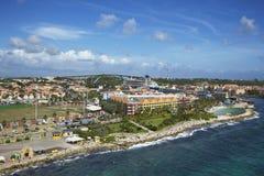 Caraïbes. Le Curaçao image libre de droits