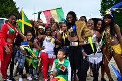Caraïbisch Carnaval Stock Afbeelding