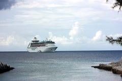 Caraïbisch cruiseschip Stock Foto