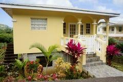 caraïbisch De architectuur van het Eiland Grenada Stock Foto
