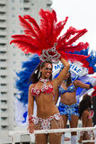 Caraïbisch festival Carnaval in Rotterdam Stock Fotografie
