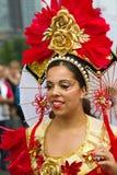Caraïbisch festival Carnaval in Rotterdam Stock Afbeeldingen