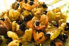 Caraïbisch Fruit Ackee Stock Foto's