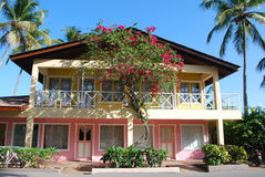 Caraïbisch huis royalty-vrije stock foto's