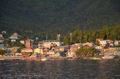 Cara?bisch klein Dorp Heilige Vincent Grenadines royalty-vrije stock afbeeldingen
