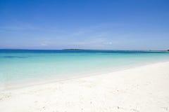 Caraïbisch overzees en strand Stock Afbeeldingen