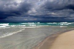 Caraïbisch overzees landschap royalty-vrije stock afbeelding