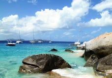 Caraïbisch panorama Stock Afbeelding