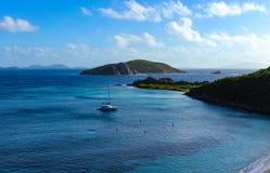 Caraïbisch paradijs royalty-vrije stock foto