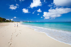 Caraïbisch strand royalty-vrije stock fotografie