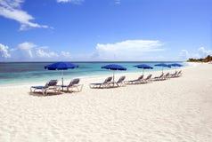 Caraïbisch strand royalty-vrije stock afbeeldingen