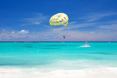 Caraïbisch strand royalty-vrije stock afbeelding