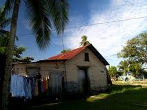 Caraïbisch tropisch huis stock afbeeldingen