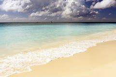 Caraïbisch wild strand royalty-vrije stock foto