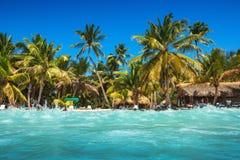 Caraïbisch wild strand royalty-vrije stock afbeeldingen