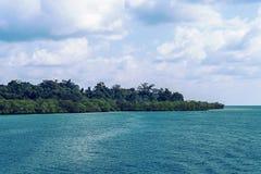 Caraïbisch wild strand van Cuba royalty-vrije stock foto