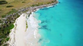 Caraïbisch wit Zandstrand, Barbados Royalty-vrije Stock Afbeeldingen