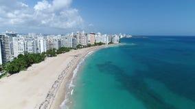 Caraïbische cruise Puerto Rico Island Carnival stock videobeelden