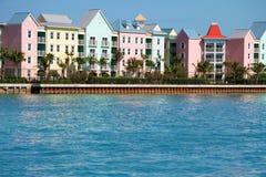 Caraïbische flats stock foto's