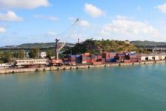 Caraïbische Haven stock foto