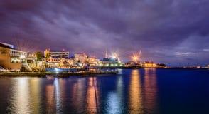 Caraïbische Haven stock foto's