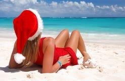 Caraïbische Kerstmis stock afbeelding