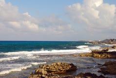 Caraïbische kustlijnen royalty-vrije stock afbeeldingen
