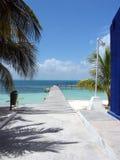 Caraïbische loopbrug stock fotografie