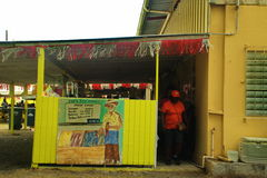 Caraïbische Markt Stock Afbeelding