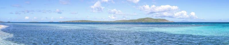 Caraïbische Panoramisch royalty-vrije stock afbeeldingen