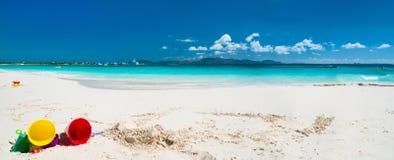 Caraïbische strand en overzees royalty-vrije stock foto's