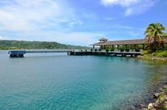 Caraïbische Tropische jachthaven Royalty-vrije Stock Afbeeldingen