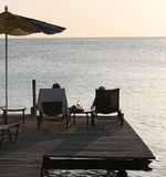 Caraïbische vakantie royalty-vrije stock foto