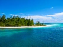 Caraïbische Zee - Playa Paraiso, Largo Cayo, Cuba Royalty-vrije Stock Afbeeldingen