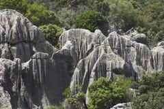Cara 1 de la roca Fotos de archivo