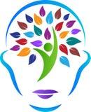 Cara abstrata da árvore ilustração do vetor