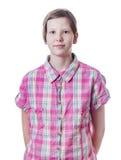 Cara adolescente Imagenes de archivo