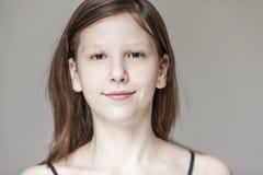 Cara adolescente Imagen de archivo