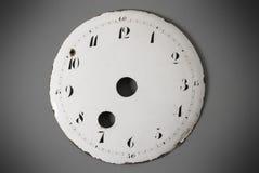 Cara antigua del reloj Imagenes de archivo