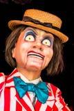 Cara asustadiza de la muñeca Fotografía de archivo